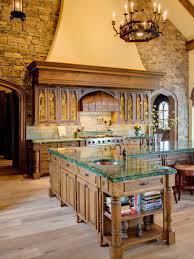 attractive italian inspired kitchen with extravagant design