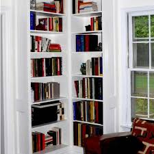 Corner Bookcases With Doors Custom Made Built In Corner Bookcases By Stuart Home Improvement
