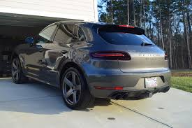 Agate Grey Macan Turbo Just Detailed Porsche Macan Forum