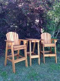 Handmade Wooden Outdoor Furniture by Great Handmade Wooden Directors Chair Perfect On Your Deck Or