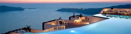 grace santorini hotels in imerovigli caldera aerial preview