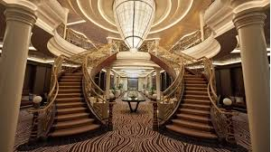 Ship Chandelier This Extravagant Luxury Cruise Ship Is Built For The World U0027s Most