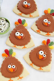 turkey cookies for thanksgiving simple turkey cookies the bearfoot baker