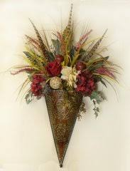 Flower Wall Sconces Silk Floral Wall Sconces Feather Sconces Metal Wall Sconce