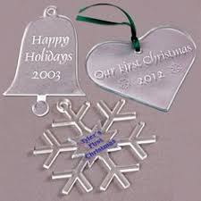 personalized ornament laser engraved by mrcwoodproducts