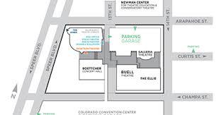 denver theatre maps directions u0026 parking dcpa