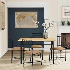 Furniture Counter Height Pub Table For Enjoy Your Meals And Work by Mainstays 5 Piece Dining Set Multiple Colors Walmart Com