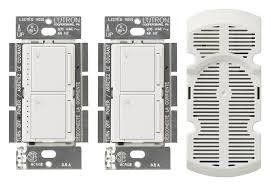 lutron ma lfq3 wh maestro multi location fan control kit