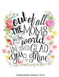 Mother S Day Designs Creative Mother U0027s Day Gifts Tags And Wall Art Included Free