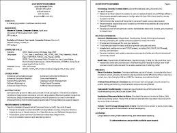 Computer Programmer Resume Example by Computer Programmer Resume U2013 Resume Examples