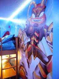 skylander bedroom skylander bedroom decor children teen kids bedroom graffiti mural