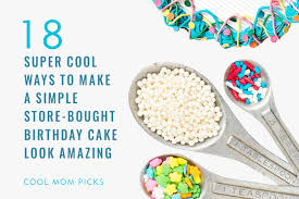 18 easy cake decorating ideas amp store bought cake