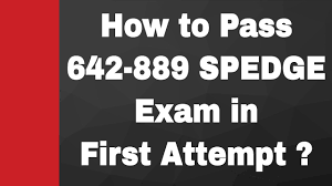 642 889 how to pass 642 889 spedge exam 642 889 dumps youtube
