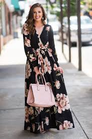 most wanted maxi dress black the mint julep boutique