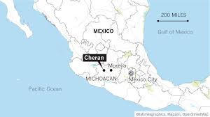Mexican State Map by One Mexican Town Revolts Against Violence And Corruption Six