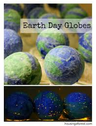 earth day crafts for kids paper mache globes science crafts