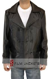 mens motorcycle leathers doctor who coat for mens black leather ww2 german jacket