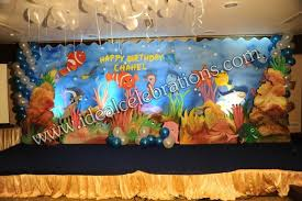 birthday 2d theme decorations in hyderabad for boys