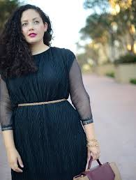 dress with curves blogger top belt bag jewels curvy