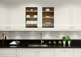 white oak shaker cabinets colored stain black solid wood kitchen modern wood construction