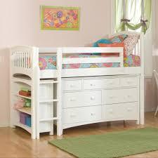 White Loft Loft Beds For Girls Bedroom Design Simple White Loft Bed Pink