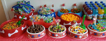 Candy Buffet For Parties by Paw Patrol Candy Buffet Paw Patrol Party Pinterest Paw