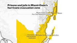 Miami Dade County Map by Thousands Of Inmates Are Left In Miami U0027s Irma Evacuation Zone