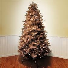 copper gold tree 7 5 white bulbs slender profile