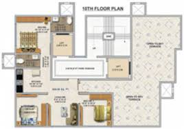 700 sq ft 3 bhk 2t apartment for sale in hirani developers sai