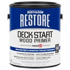 rust oleum restore 1 gal deck start wood primer 301233 the home