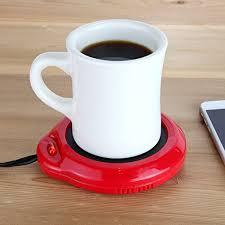 home x mug warmer desktop heated coffee u0026 tea candle u0026 wax
