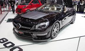 mercedes hp brabus 800 roadster because the 621 hp mercedes sl65 amg is