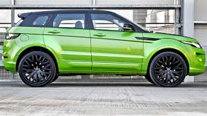 green range rover range rover evoque gets lamborghini makeover car news reviews
