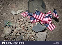 American Flag On Ground Paul Revere U0027s Tomb Granary Burying Ground Boston Massachusetts