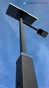 Solar Led Street Lighting by Solar Panel Street Lights Ember Led Ember Led Exterior Led
