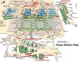 Shinagawa Station Map Tokyo Station Map Map Of Tokyo Stations Kantō Japan