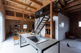 contemporary house in japan mimics the appeal of a renovated view in gallery interior of the home mimics the style and appeal of a renovated warehouse contemporary house in