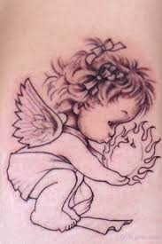 and cherubs are known as popular baby tattoos for