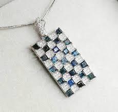 blue sapphire necklace pendant images Sapphire necklace pendant men pendants natural origin blue jpg