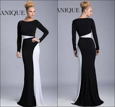 new arrival long sleeve fall winter evening dresses 2015 janique