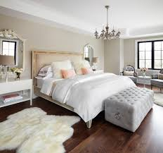 toronto bed benches bedroom transitional with sheepskin rug