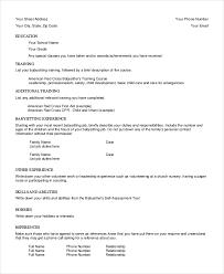 nanny resume samples nanny resume cover letter nanny work resume