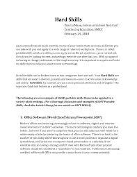 Resume Skills Section Sample by Resume Personal Skills Attributes Corpedo Com