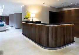Commercial Reception Desks by Wooden Reception Desk Commercial Nordic Gekips