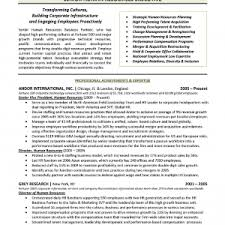 human resources resume sample entry level senior human level cover