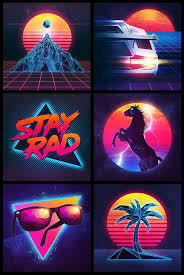 1980s colors 73 best 80s retro art images on pinterest 80 s futurism and