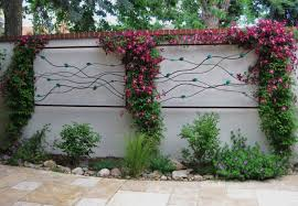 garden wall add a special touch to your patio wall with some outdoor art