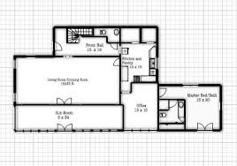 seesaws and sawhorses first floor plans