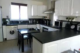 cuisine blanc et noir déco cuisine noir et blanc deco cuisine noir et blanc cuisine noir