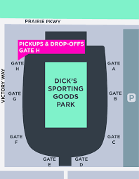 your ride to s sporting goods park lyft